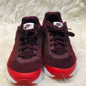 Nike Shoes - Nike Air Burgundy Red Men's Tennis Shoes Size 11.5
